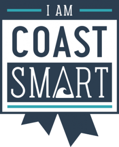 CoastSmart digital badge